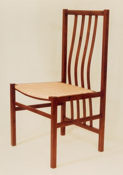 Wood Chair designed by Dane F. Jensen