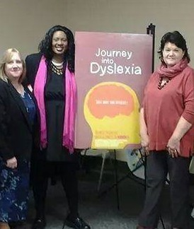 Eileen Tait-Acker, Tracy Johnson, Susan Raymond at JID Screening
