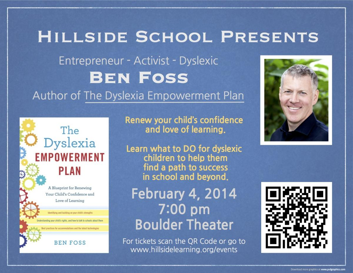 Hillside School Dyslexia Talk