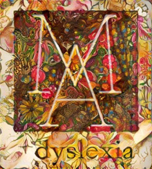 stylized painting of Mariaux Art and dyslexia logo