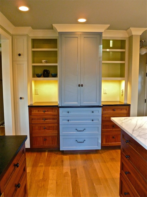 photo of cabinetry designed by Dane F. Jensen