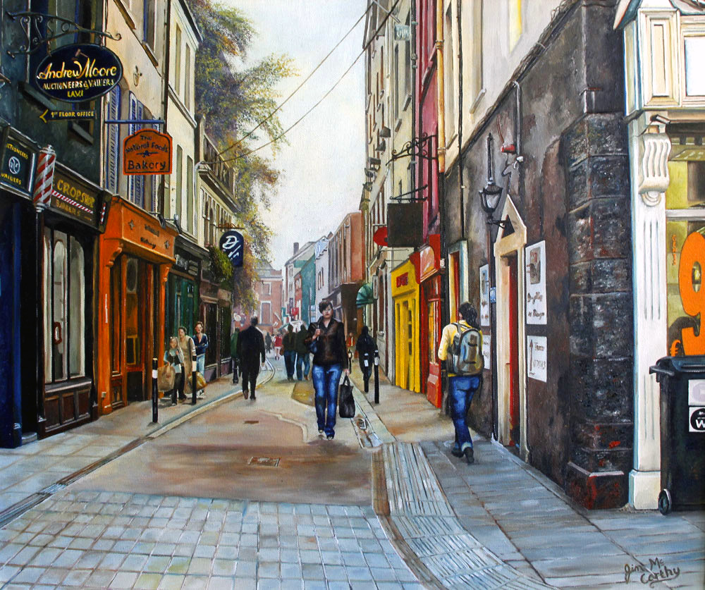 Painting of Paul Street by Artist Jim McCarthy