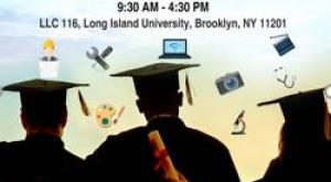 PIVOT Symposium Poster Brooklyn NY Photo of college students at graduation